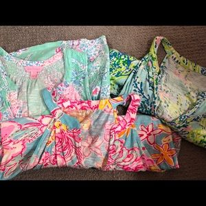 Lot of 3 EUC Lilly Pulitzer tank tops